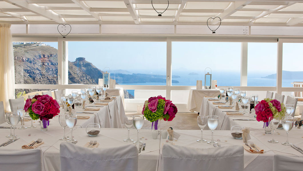 The Santorini Princess Spa Hotel Santorini Wedding Venue