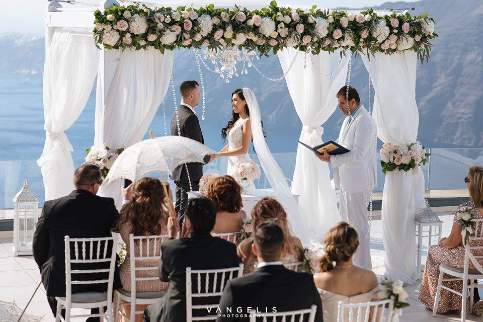 Santorini Wedding packages Le Ciel Weddings Santorini Wedding Venues Vangelis Photography