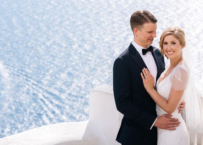 Santorini Wedding Photographer, Vangelis Photography