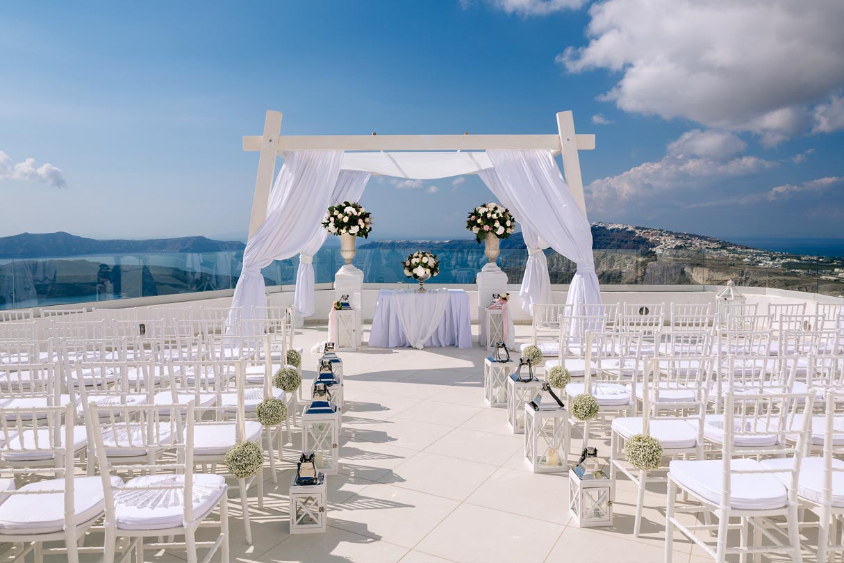 Santorini Wedding Venues
