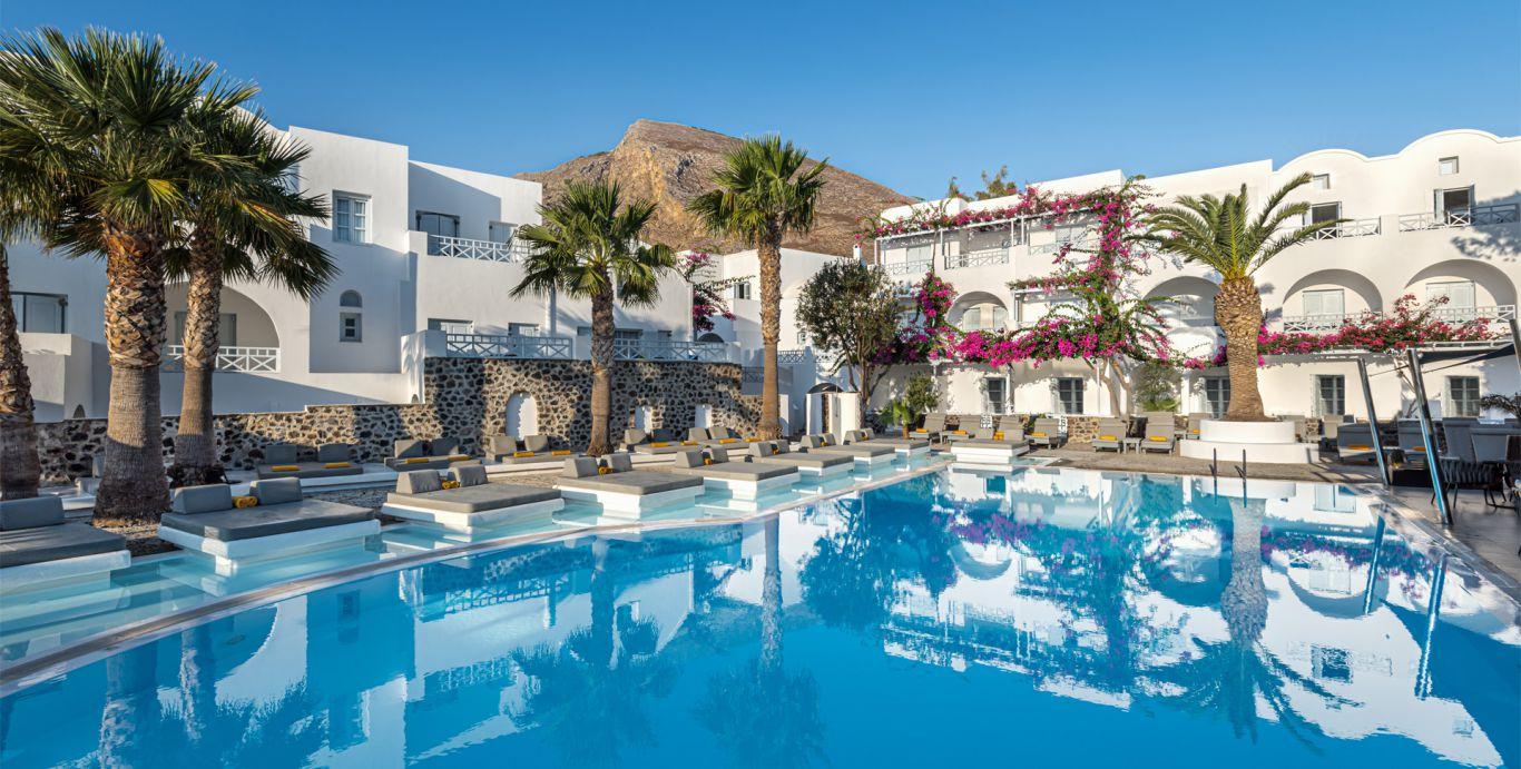 Santorini Kastelli Resort Pool